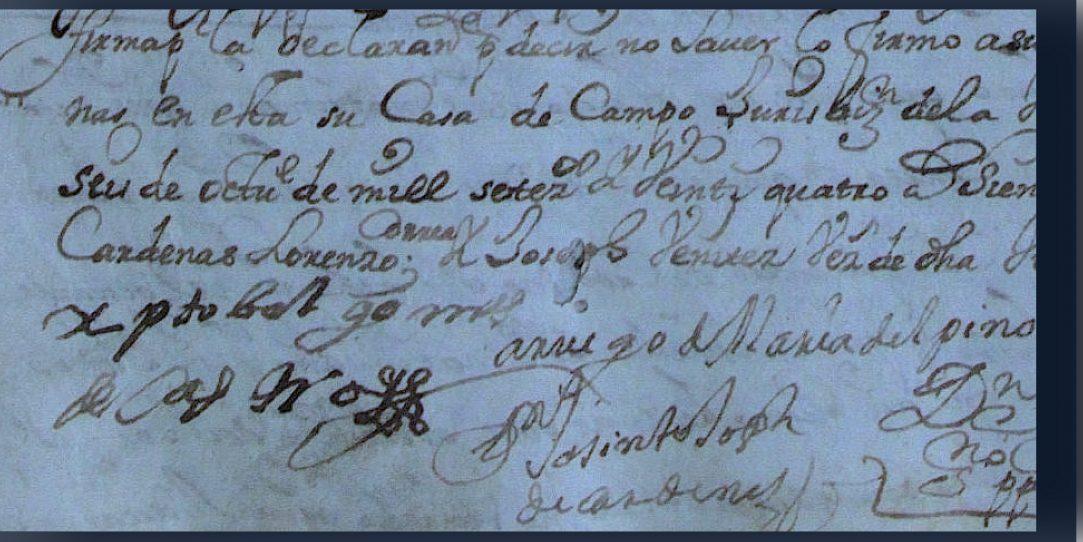 Síntesis al testamento                                                                                    de                                                                                       Don Cristóbal Gómez de Castro